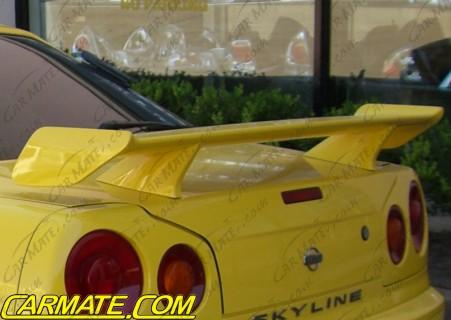 Carmate Nissan R34 Gtt Quot Gtt Style Quot Rear Wing Bodykits