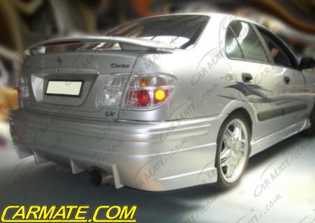 Carmate Nissan Pulsar 2000 2003 N16 Sedan Quot Bc Style Quot Rear