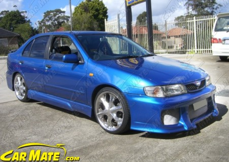 Carmate Nissan Pulsar 1997 2000 N15 5dr Hatch Quot S Style